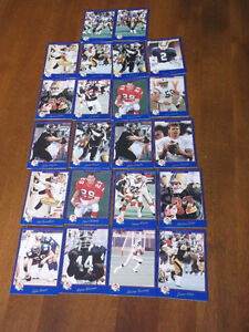 CFL CARDS -- CFL MAGAZINES & NFL CARDS Cornwall Ontario image 3