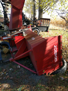 Snow blower three point hitch for a tractor.. Norman 86.
