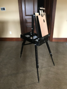 Easy Foldable and Portable Art Easel