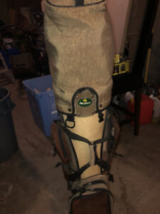 Golf bag and clubs for sale