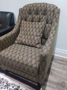 2 Piece Matching Chair Set