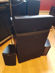 Paradigm Surround Sound System Without Amp