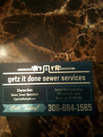 Getz it done sewer services