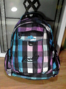 New Roots Backpack and New SporTech backpack