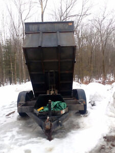 Used dump trailer 7 ton