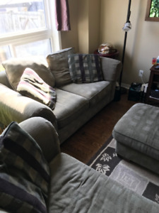 Couch,  Loveseat and Ottoman