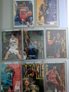 8 Basketball Rookie Cards