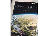 BBC planet earth DVD box set documentary