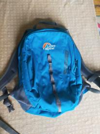Lowe alpine vector 18 blue rucksack