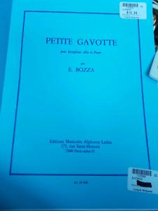 Saxophone sheet music/ repitoir
