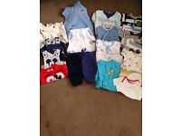 Various selection of newborn boys clothes - hardly worn £15