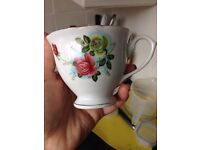 Vintage China inspired tea cups and saucers