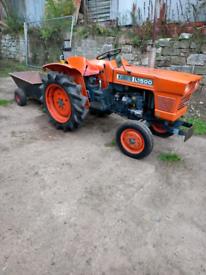 Kubota compact tractor Diesel