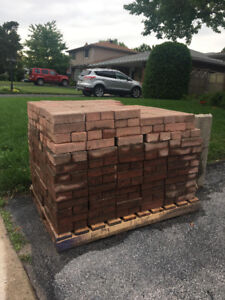 Approx 180sq  ft free red bricks! Pick them up free of charge.