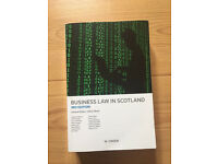 Business Law in Scotland 3rd Edition Gillian Black