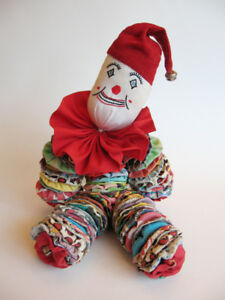 Vintage 1960s Yo Yo Clown Doll