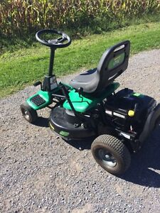 Weedeater one riding lawn mower