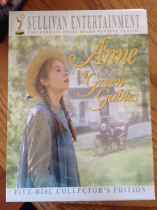 Anne of Green Gables complete collection DVDs