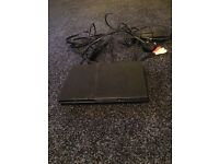 PS2 with all wires, no controller 4 games included