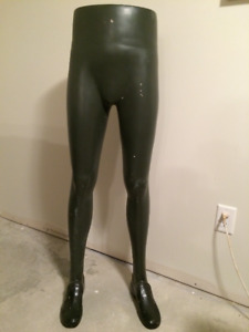 Vintage Mannequin Legs with pilgrim style shoes