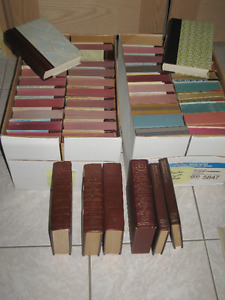 Reader Digest Condensed Leather Hard Back Books For Sale