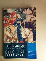 The Norton Anthology Books - Volumes A to F