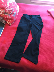 Lululemon black yoga pants for sale