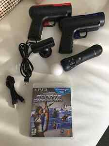 PS3 EYE USB CAMERA AND THE MOVE MOTION CONTROLLER + GAME