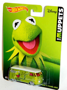 Hot Wheels 1/64 The Muppets Kermit The Frog VW Diecast