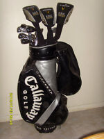 FULL SET OF CALLAWAY FUSION CLUBS - $675