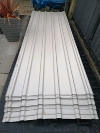 Corrugated roof sheets 3metre by 1 metre