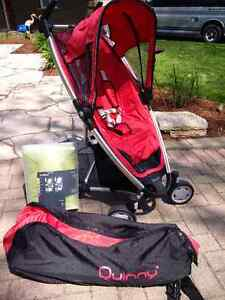 Quinny Zapp Stroller with i'coo Winter/Summer Pad