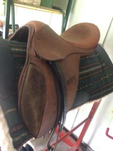 childs english saddle