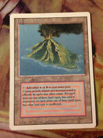 Magic the Gathering Volcanic Island Revised NM