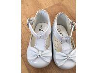Baby girl Pram shoes size 1