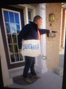 Newspaper carrier bag