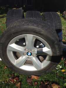 ORIGINAL BMW X5 2009+ 18'' TIRES AND MAG