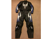Motorcycle leathers two piece