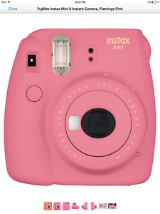 instax mini 9 for sale 2 weeks old  pink