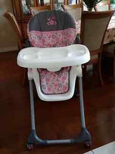 Baby Trend Pink Highchair
