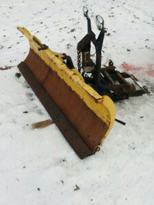 Snow plow $850 if gone today