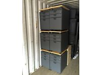 50 X pedestals under desk drawers in different colours. Delivery.