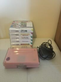 Ds lite video game console