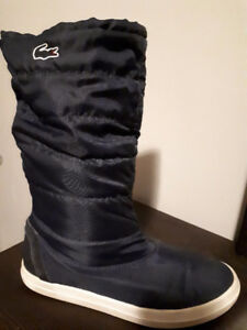 Lacoste size 6- running shoe, sock boot