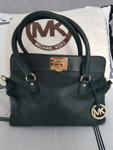 Michael Kors Collection ~ Large Astrid Satchel in Dark Green