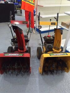 SNOW BLOWERS SALE - HONDA POWERED ONLY $399 1 YEAR WARRANTY