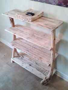 Natural wood shelving unit/ shoe stand/ table! Gatineau Ottawa / Gatineau Area image 1
