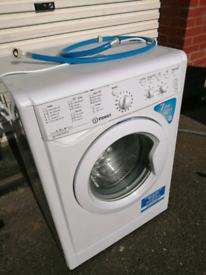 A++ class 7kg 1400 spin Indesit washing machine