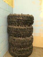 Looking to trade mud tires