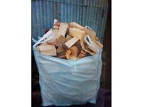 Logs, blocks, firewood, sticks
